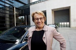 En Bretagne, la ministre Marylise Lebranchu tranquille dans son fief du Finistère. (©Vernier/JBV NEWS)