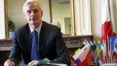 Michel Barnier commissaire europeen charge des marches interieur et des services financiers.
