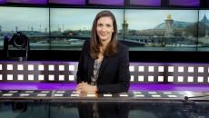 """Marion Lefebvre-Becker présente tous les jours à 14h l'émission """"Parlement'air"""". (Crédit : A.Faidy Autobus prod)"""