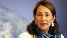 France. Paris le 2015/06/02Conference de presse de Segolene Royal Ministre de ecologie pour lutter contre la pollution de air.Segolene Royal portrait Ministre d eEcologie