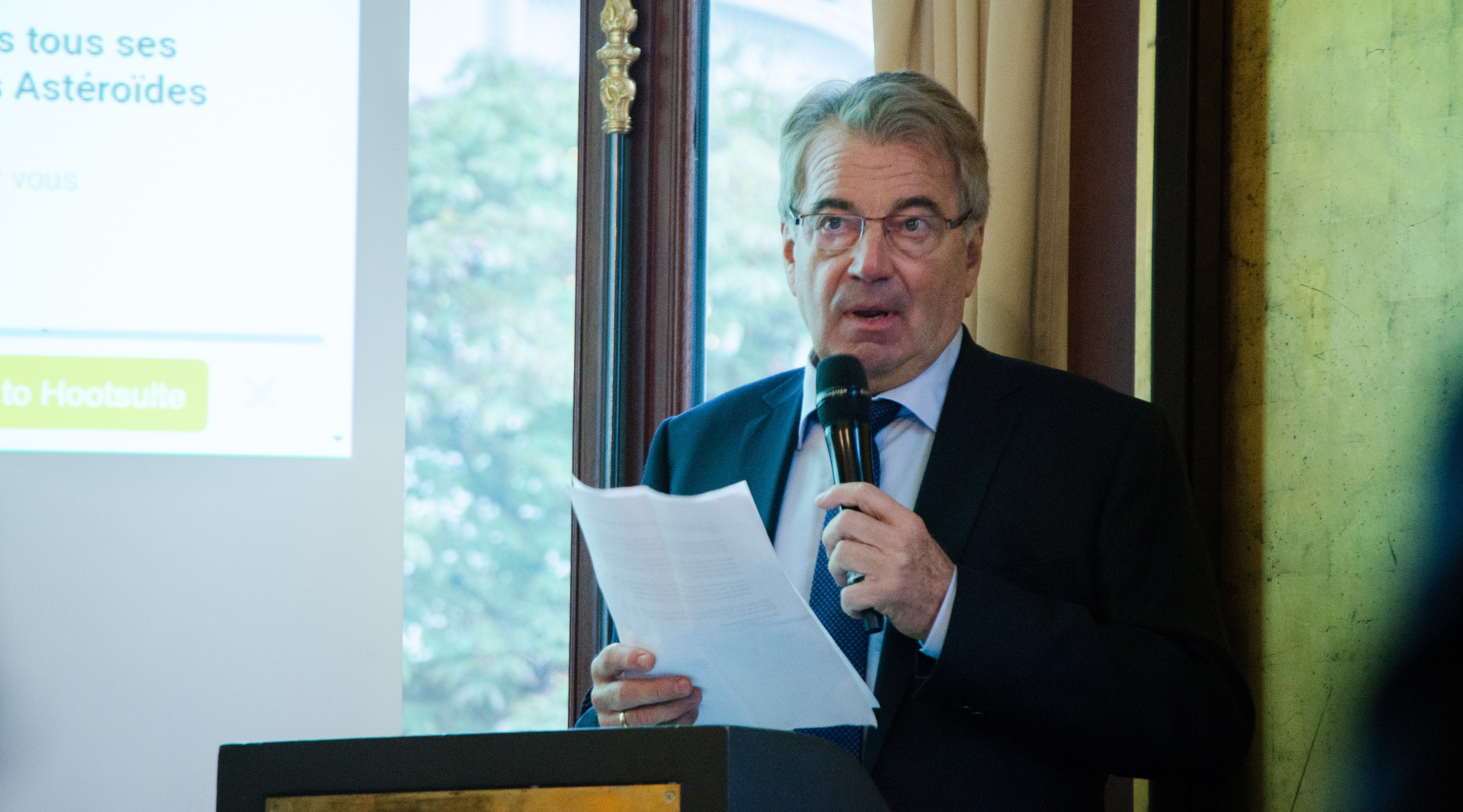 Jean-Bernard Conrad, président du SER  ©SER