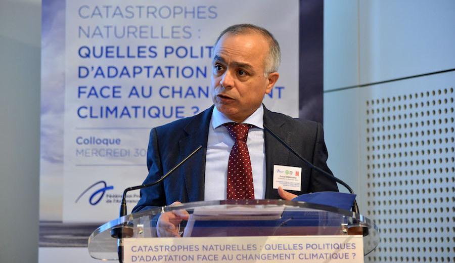 """Colloque """"Catastrophes naturelles : quelles politiques d'adaptation face au changement climatique"""" 30.11.16"""