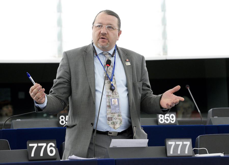 Le député slovaque Branislav Škripek.