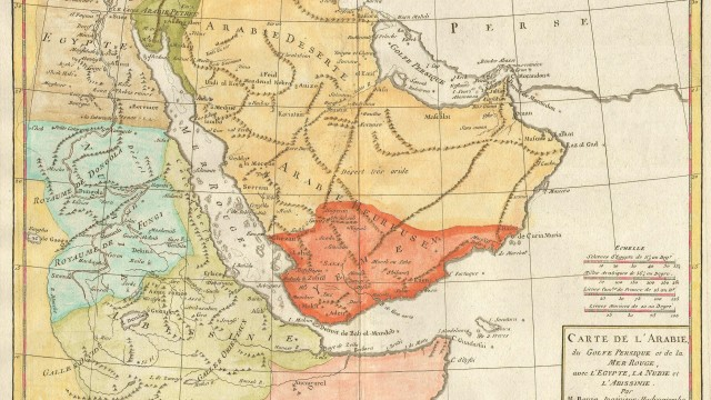 1780_Bonne_Map_of_Arabia,_Egypt_^_Ethiopia_-_Geographicus_-_Arabia-bonne-1780