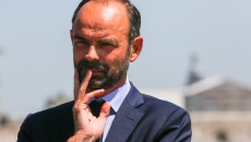 France. Paris le 2017/07/07Reunion faire de Paris une place financiere europeenne apres le Brexit.Edouard Philippe Premier Ministre