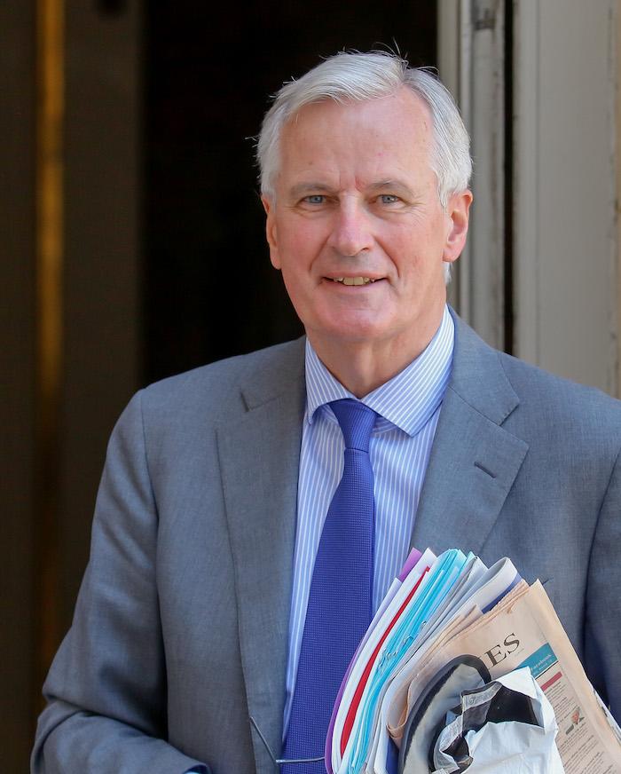 France. Paris le 2017/07/21 Michel Barnier négociateur en chef de la Commission Europeenne charge de la conduite des négociations avec le RoyaumeUnis suite au Brexit est recu a Hotel de Matignon par le Premier Ministre. Michel Barnier portrait